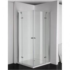 """Универсална отваряема врата """"SIMPLYFLEX"""", 80-100х195см., хром"""