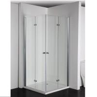 """Универсална сгъваема врата """"SIMPLYFLEX"""", 80-100х195см., хром"""