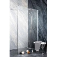 "Параван за баня ""FREEDOM II Sanoflex"", 8 мм. закалено стъкло, хром"