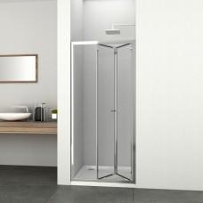 """Сгъваема врата """"ELITE-FD"""", 80-90x195 см., хром"""