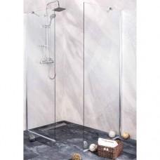 """Стационарен душ параван """"YOUNG Sanoflex"""", 70-120x195 см., хром"""