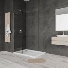 """Стационарен душ параван за баня """"WALK IN"""", 40-90x190 см., 6 мм. стъкло"""