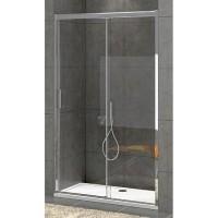 "Преграден душ параван с една врата ""Bella W1"", 98-152х195 см., хром"