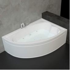 Хидромасажна асиметрична вана ОНИКС L/R, 160×110x52 см.