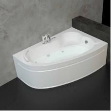 Хидромасажна асиметрична вана ОНИКС L/R, 140-160 см.
