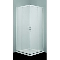 "Врата и стационарно стъкло за душ кабина ""PRO-LINE"", прозрачно стъкло"
