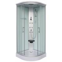 "Хидромасажна душ кабина ""RUMBA"", мат, 90х90х215 см."