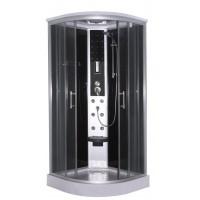 """Хидромасажна душ кабина """"SCALA"""", в черно, 90х90х215 см."""