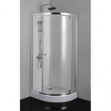 Асиметрична душ кабина 70х90х185 см.